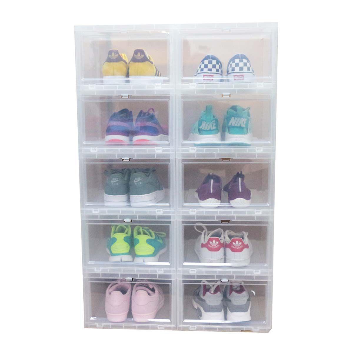 Boîte chaussures en plastique - Rangement chaussures