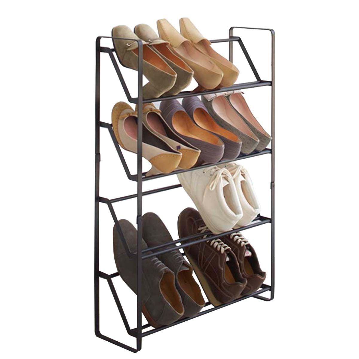 tag re chaussures pour placard troit gain de place. Black Bedroom Furniture Sets. Home Design Ideas