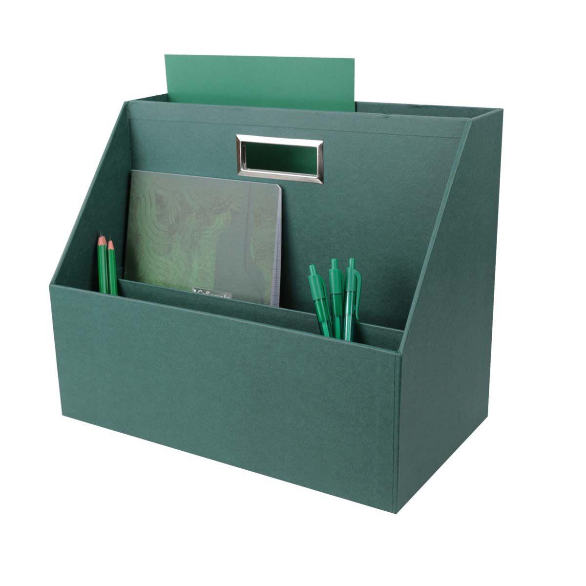 Box de rangement pour flex office - Vert