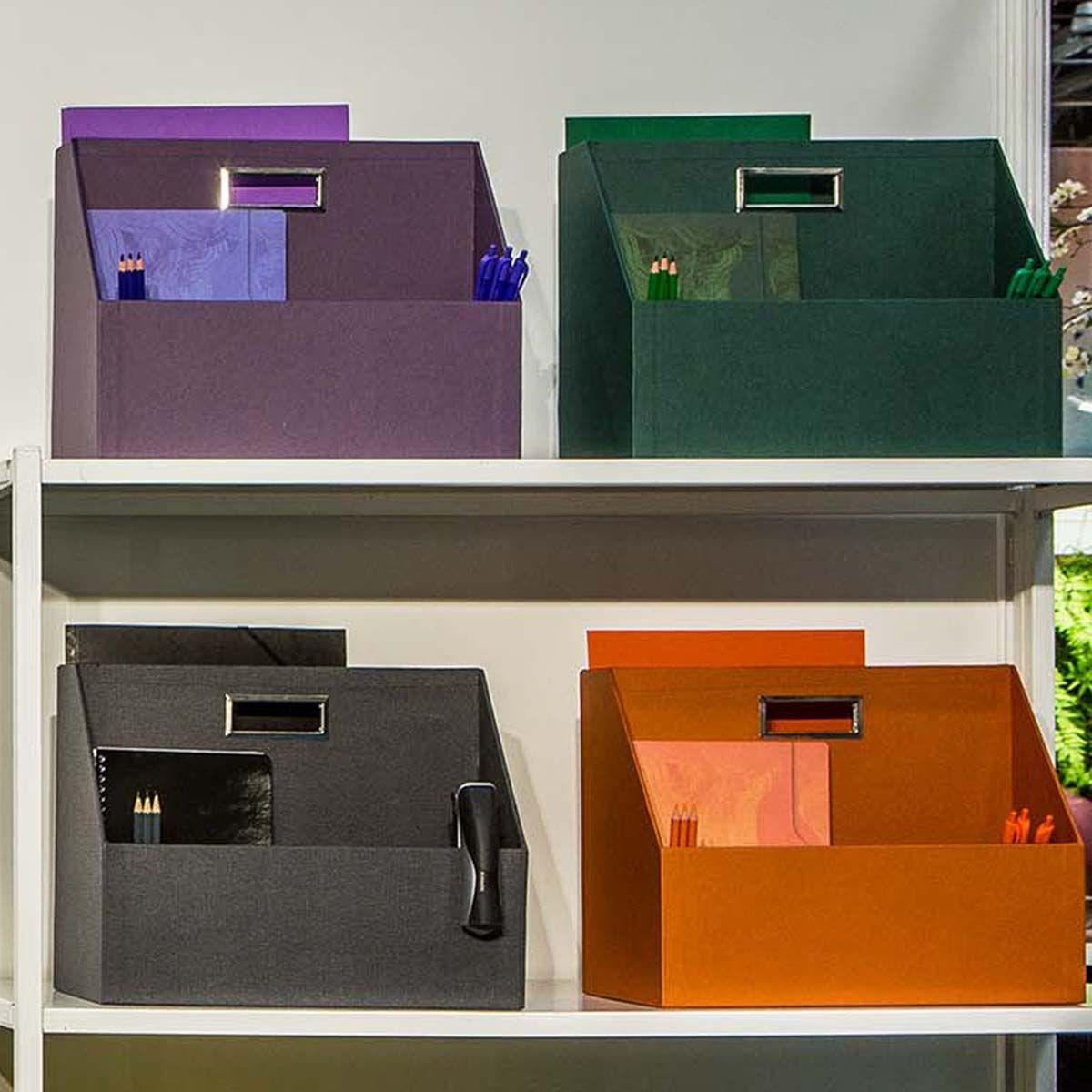 Box de rangement pour bureau flex - Violet