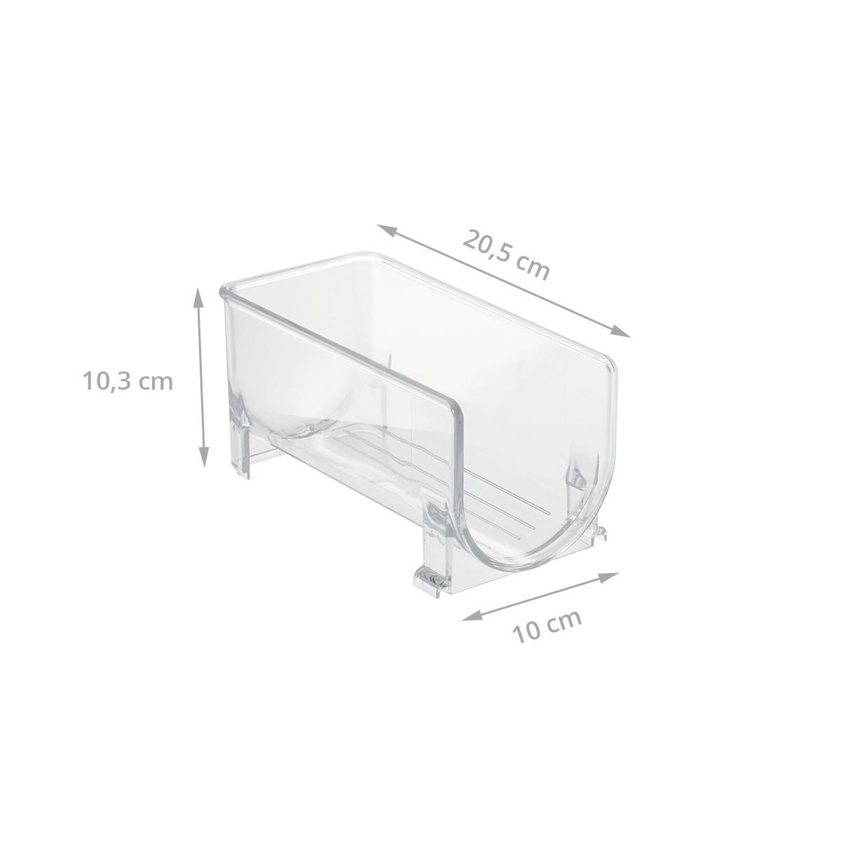 bac bouteille empilable en plastique transparent cave. Black Bedroom Furniture Sets. Home Design Ideas