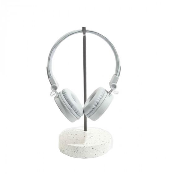 Support design pour casque audio
