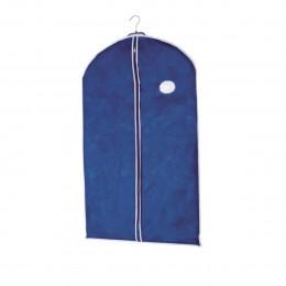Housse à suspendre en intissé bleu pour vêtements M