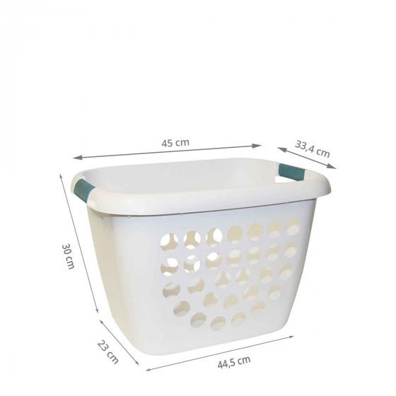 Bac à linge en plastique 26 litres