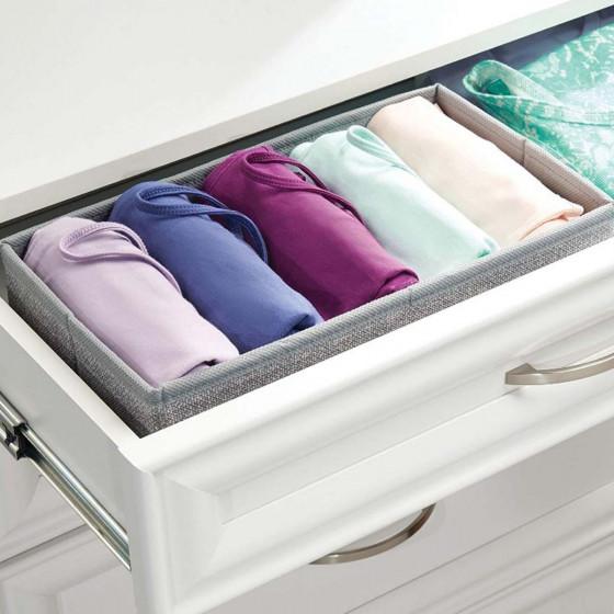Séparateur de tiroir en tissu