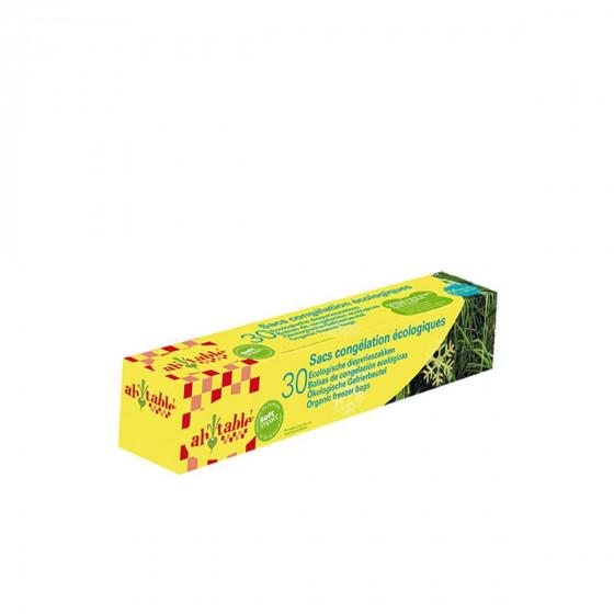 30 sacs de congélation écologiques 1 litre