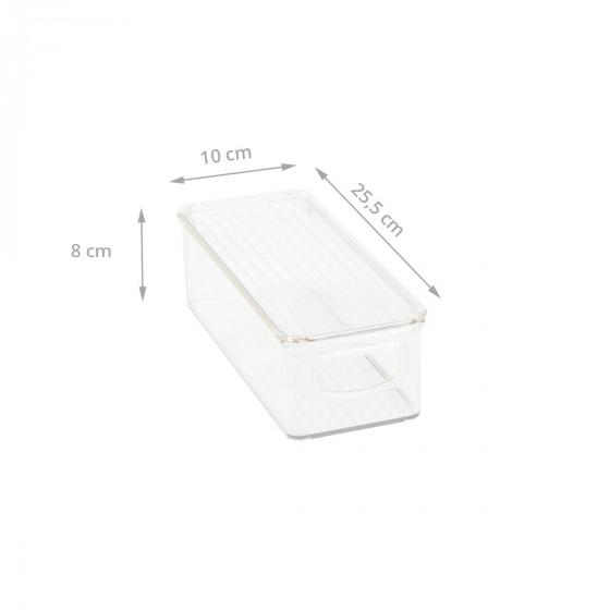 Bac rangement en plastique pour placard for Bac plastique avec couvercle