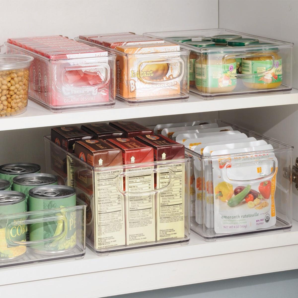 bac pour placard rangement aliments. Black Bedroom Furniture Sets. Home Design Ideas