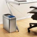 Poubelle de tri pour bureau individuel 2x10 litres