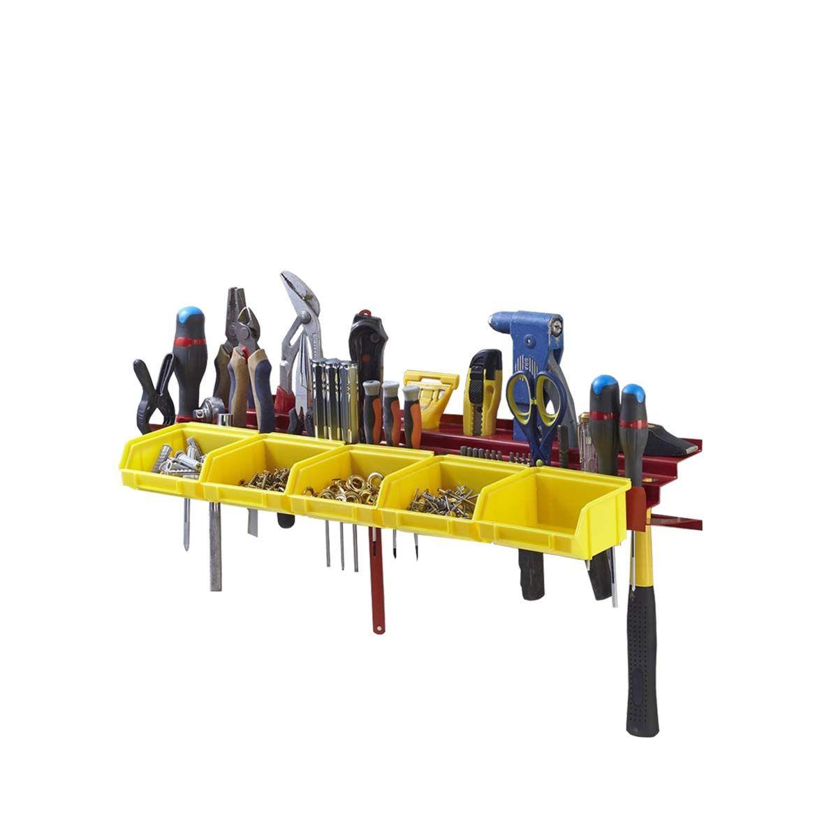 Rangement mural pour petits outils - Bricolage