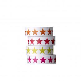 4 masking tape étoiles