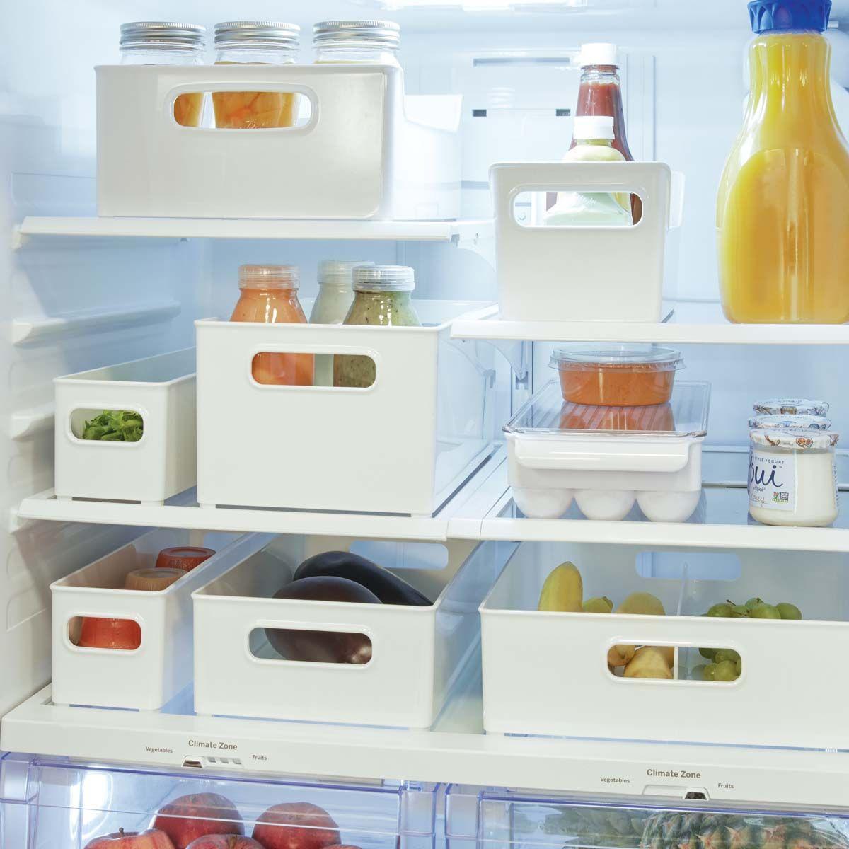 Bac de rangement condiments - réfrigérateur