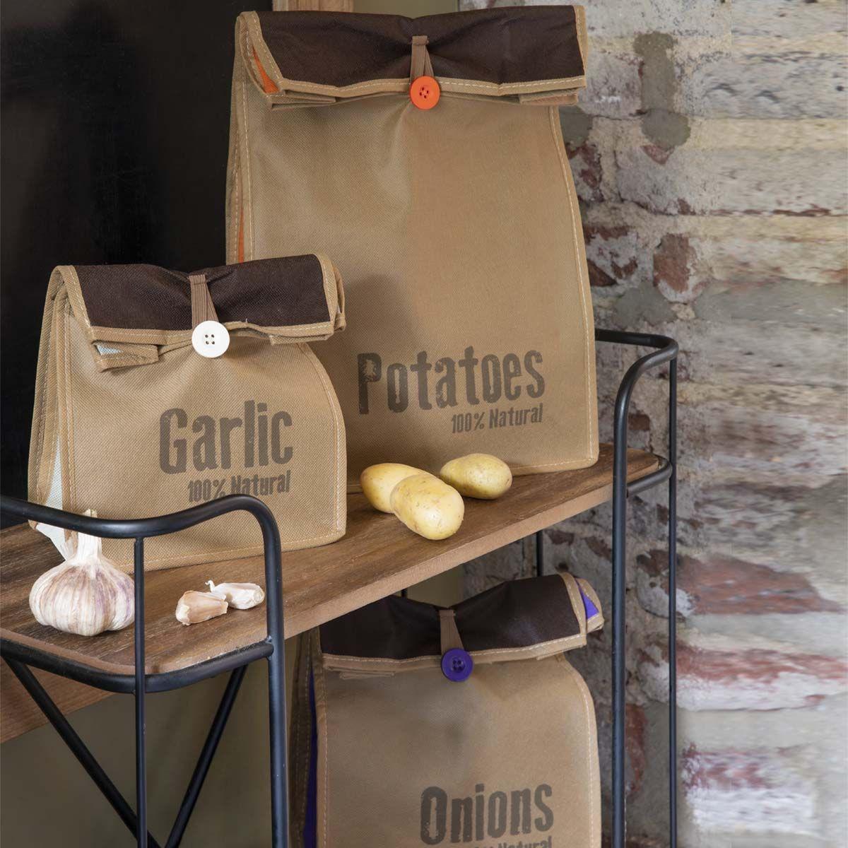 Pomme de terre /& Oignon sacs de stockage