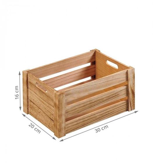 Petite cagette en bois