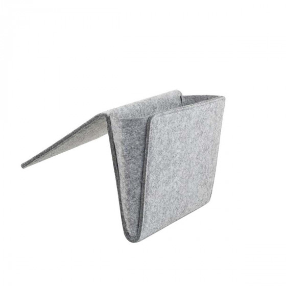 Rangement bord de lit en feutre épais