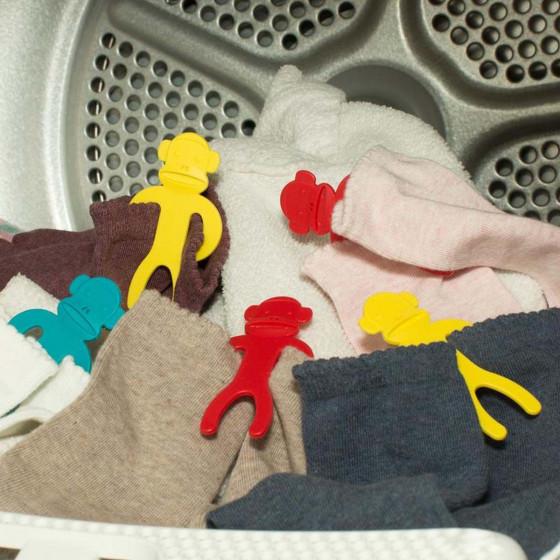 12 accroche-chaussettes