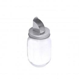 Bocal en verre avec bec verseur