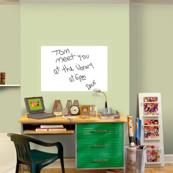 Panneau adh sif blanc panneaux d 39 affichage - Panneau adhesif cuisine ...