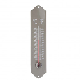 Thermomètre extérieur rétro taupe