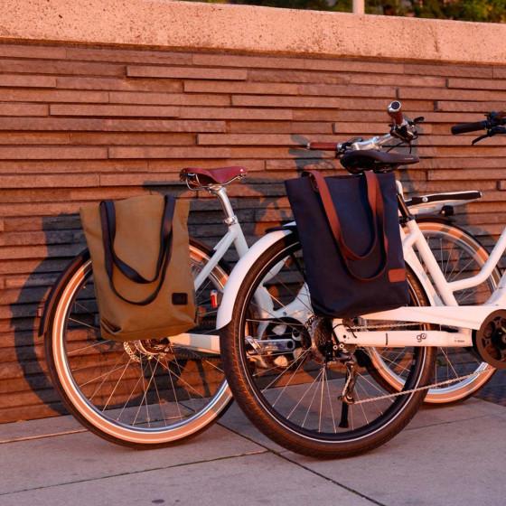 Sacoche à vélo sac bandoulière noir