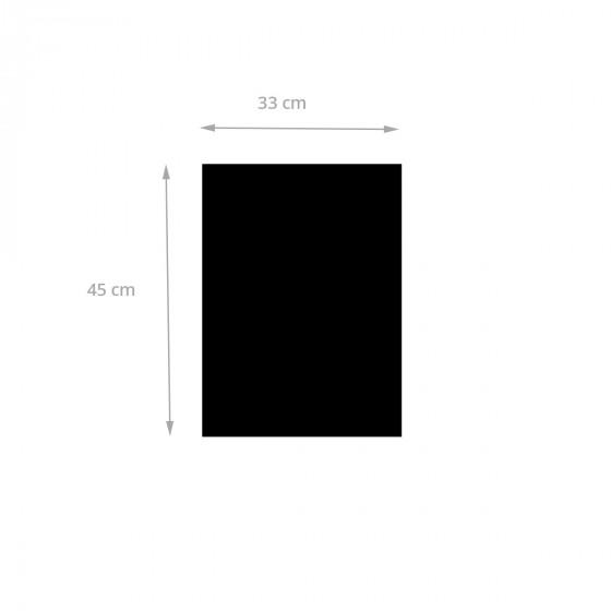 Sticker ardoise noire repositionnable avec 2 craies