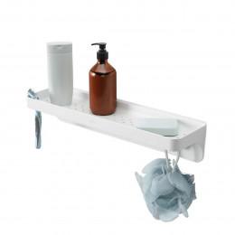Etagère de salle de bain à ventouses