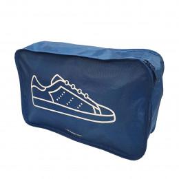 Housse de voyage bleue pour sneakers