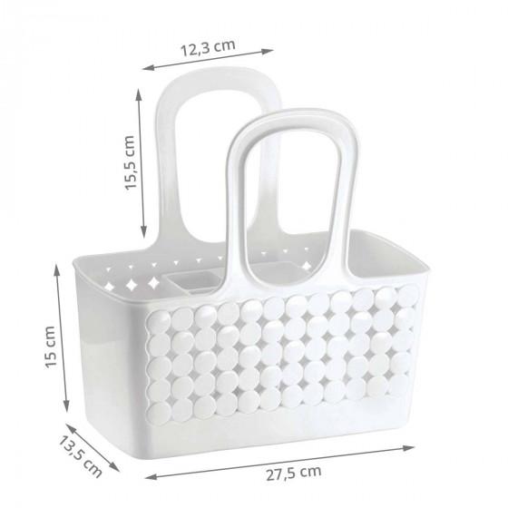 Panier de rangement pour salle de bain