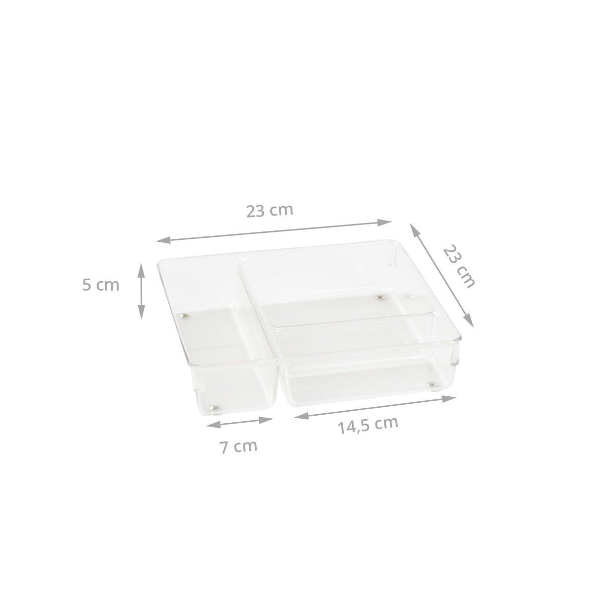 Organisateur tiroir rangement couverts for Organisateur tiroir
