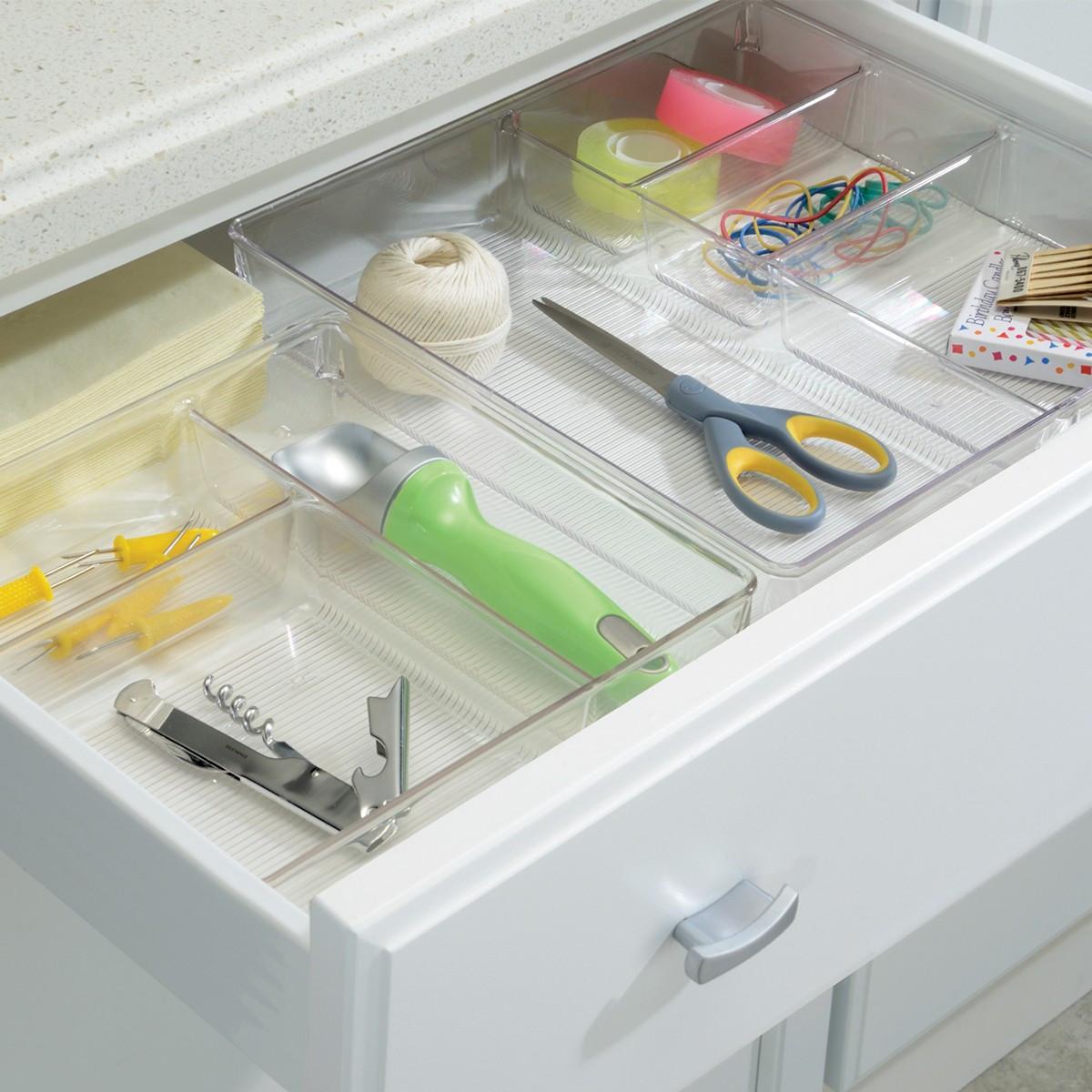 Organisateur tiroir rangement couverts - Organisateur tiroir cuisine ...