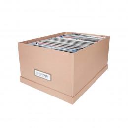 Boîte à DVD en carton rose poudré
