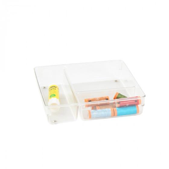 Organisateur 3 compartiments rangement tiroirs - Organisateur de tiroir bureau ...