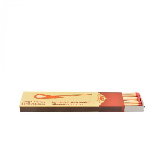 Boîte d'allumettes longues