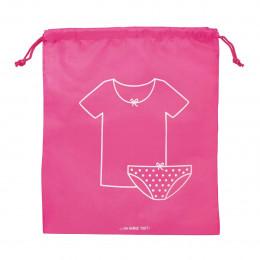 Pochette rose pour sous-vêtements fille