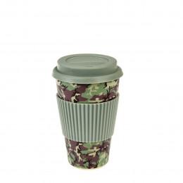 Mug en bambou camouflage