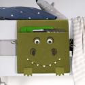 Poche de rangement pour lit d'enfant dinosaure