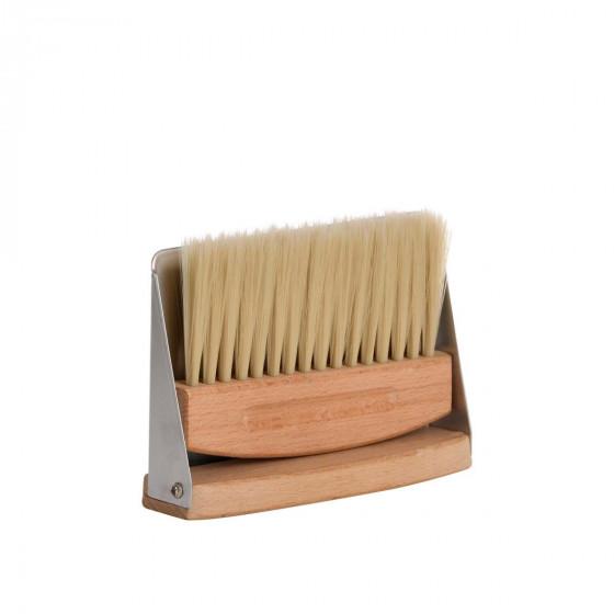 Ramasse miettes pelle et balayette en bois et métal