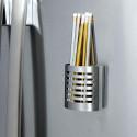 Pot à crayons magnétique en métal