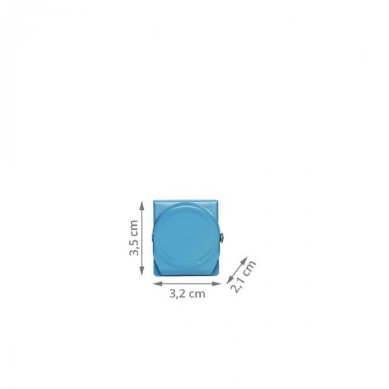 4 pinces magnétiques colorées