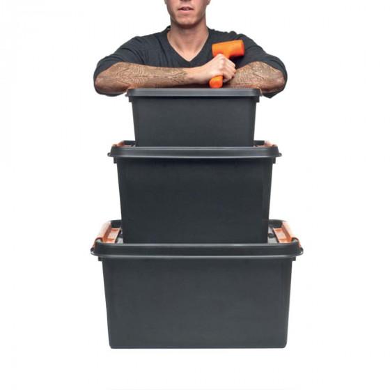 Boîte de rangement incassable 32 litres