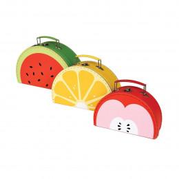 Valisettes en carton fruit