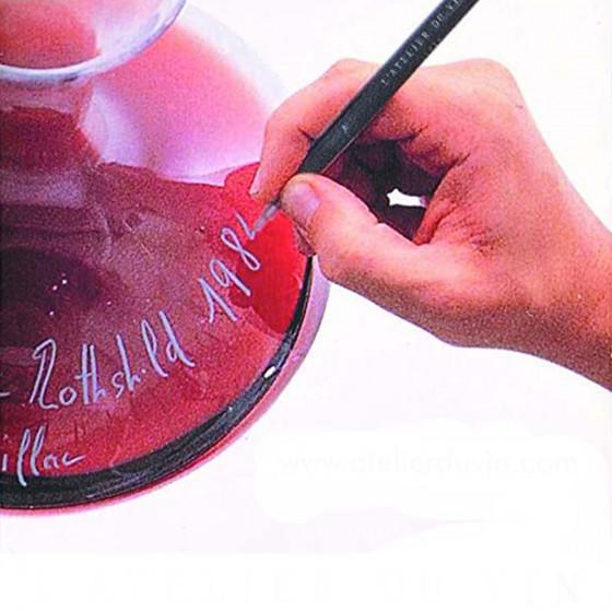 Feutre effaçable pour verre à vin