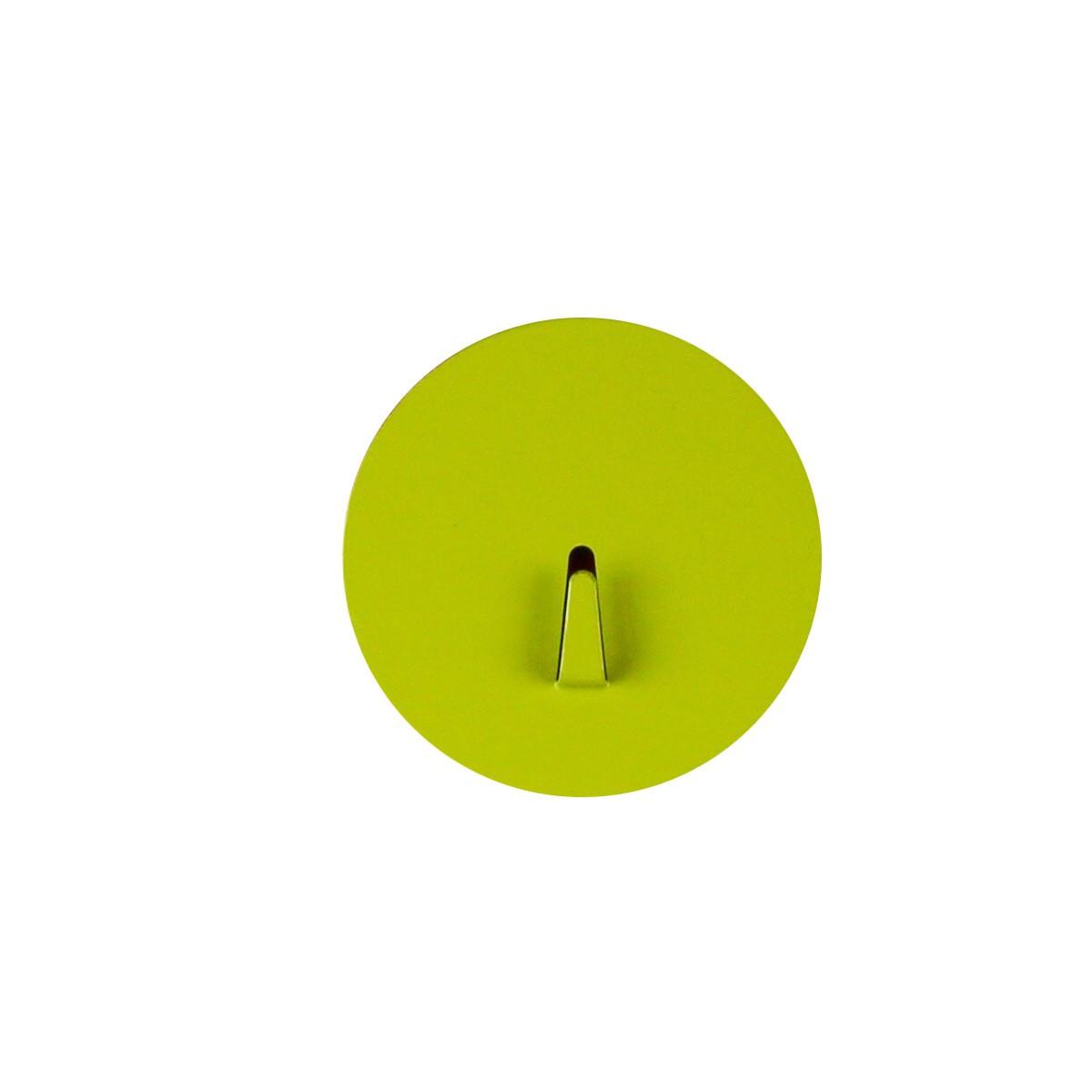 crochet aimant rond vert rangement cl s. Black Bedroom Furniture Sets. Home Design Ideas