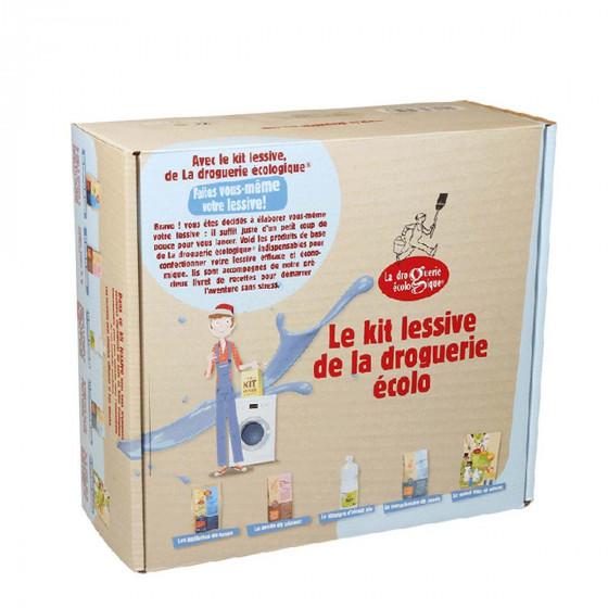 Kit de fabrication d'une lessive écologique