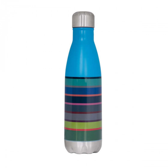 Bouteille isotherme en inox bayadère 500 mL