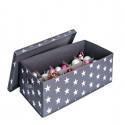 Boîte de rangement à compartiments pour boules de Noël