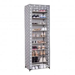 Grande armoire à chaussures en tissu 175x60x40