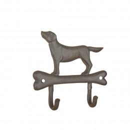 Crochets chien en fonte