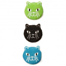 3 éponges grattantes chat