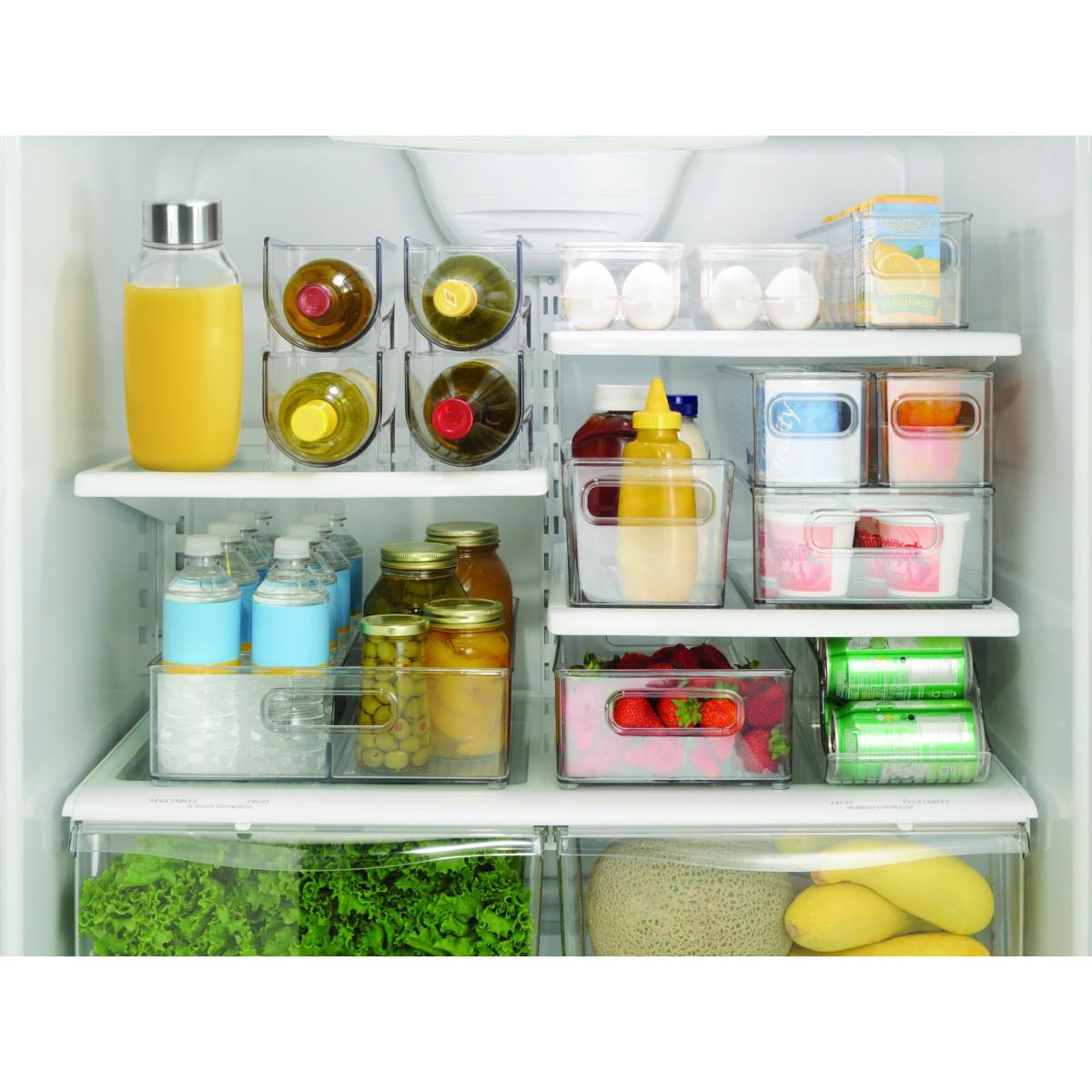 Bac haut et transparent pour placard rangement cuisine for Organiser ses placards de cuisine